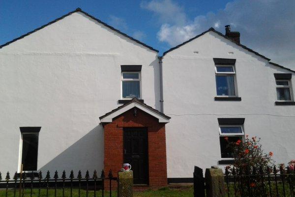 facade coating white