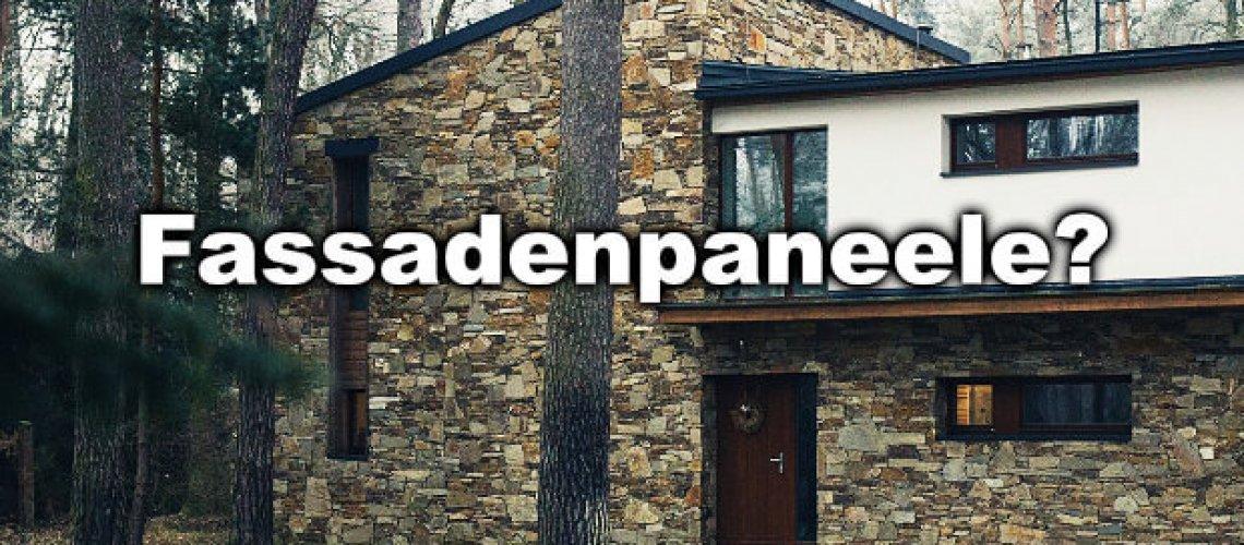 Fassadenpaneele aus Kunststoff oder doch echte Steine, echtes Holz bzw. echter Putz mit passender Fassadenfarbe oder Fassaden-Schutz? Hier finden Sie alle Vorteile und Nachteile von Fassadenpaneelen!
