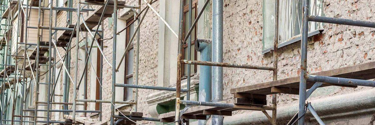 redesign old facade
